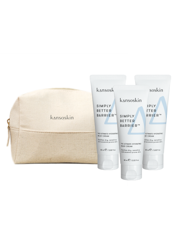 Simply Better Barrier™ 3-Piece Bundle with Travel Pouch